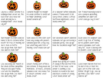 Pumpkin Problem Solving & Perspective Taking