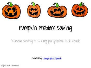 Pumpkin Problem Solving & Perspective Taking