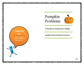 Pumpkin Problems--A Practice in Perspective-Taking