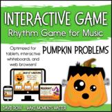 Interactive Rhythm Game - Pumpkin Problems Halloween-theme