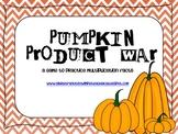 Pumpkin Product War