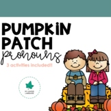 Pumpkin Patch Pronoun Pack