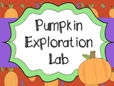 Pumpkin Properties Exploration Lab