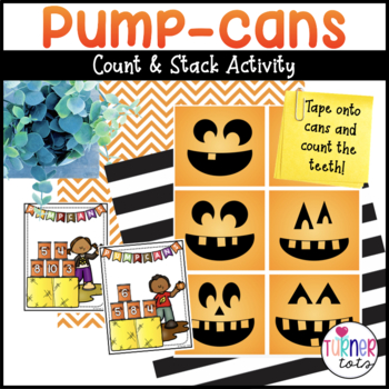 Pumpkin (Pump-Can) Counting Activity