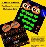 Pumpkin, Pumpkin ~ A Traditional Hallowe'en Song~ ta, titi, rest, pentatonic