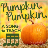Pumpkin, Pumpkin: a folk song to teach tika-tika
