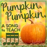 Pumpkin, Pumpkin: a folk song to teach tika-tika