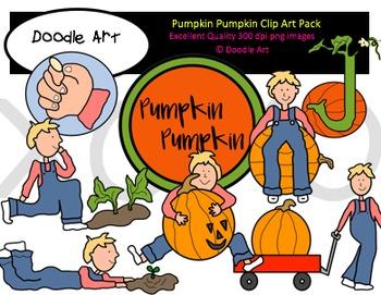 Pumpkin Pumpkin Clipart Pack