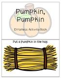 Pumpkin, Pumpkin Errorless Activity Book