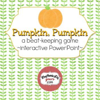 Pumpkin Pumpkin ~ Interactive PowerPoint game