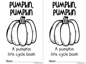 Pumpkin Life Cycle Activities, Craftivity, and More!