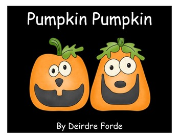 Pumpkin Pumpkin Literacy and Math Centers