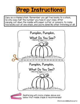Pumpkin, Pumpkin:  Miles on the Tongue Oral Language Reader