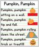 Pumpkin, Pumpkin Poem Anchor Chart {Printable!!}