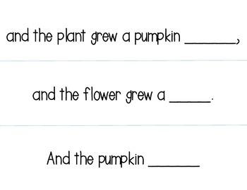 Pumpkin Pumpkin Retelling