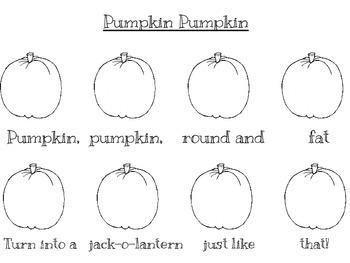 Pumpkin Pumpkin Round and Fat