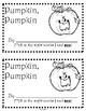 Pumpkin Pumpkin Sight Word Reader