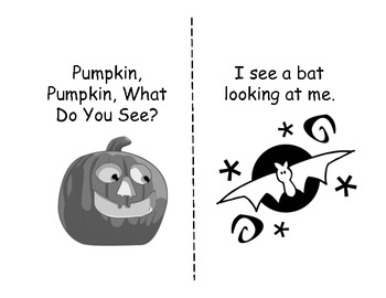 Pumpkin, Pumpkin, What Do You See--Student Version