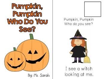 Pumpkin, Pumpkin-Who Do You See?