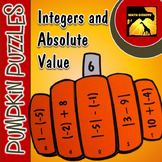 Pumpkin Puzzle: Integers & Absolute Value