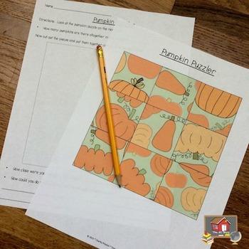 Pumpkin Puzzler Activity