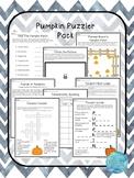Pumpkin Puzzler Pack
