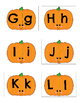 Pumpkin Puzzles--Capital and Lowercase Letters