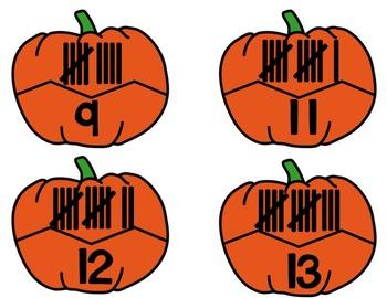 Fall Activities - PUMPKINS Math Centers