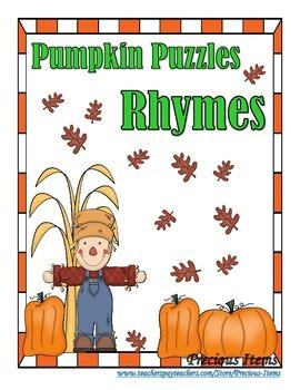 Pumpkin Puzzles Rhymes