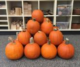 Pumpkin Pyramid (3 Act Math)