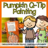 Pumpkin Q-tip Painting