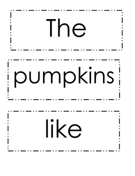 Pumpkin Reading Book