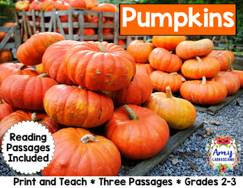 Pumpkin Reading Passages