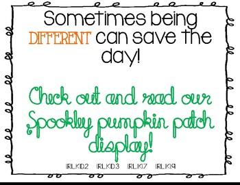 Spookley the Pumpkin Retell Craftivity