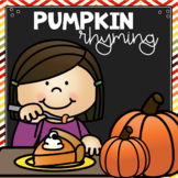 Pumpkin Rhyme the Room & Match the Rhymes
