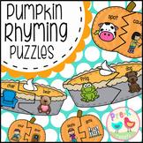 Pumpkin Rhyming