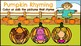 Pumpkin Rhyming-A Digital Literacy Center