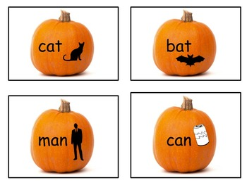 Pumpkin Rhyming Activity