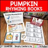 Pumpkin Rhyming Books - Kindergarten Center - Simply Centers