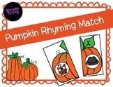 Pumpkin Rhyming Match (Fall/October/November)