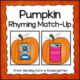 Pumpkin Rhyming Match-Up