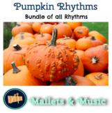 Pumpkin Rhythm Practice Bundle