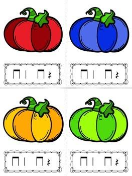 Pumpkin Rhythm Relay Race: Rest