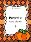 Pumpkin Rhythm Relay Race: Rest