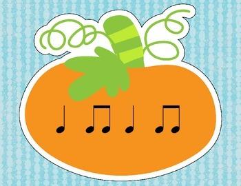 Pumpkin Rhythms for Halloween