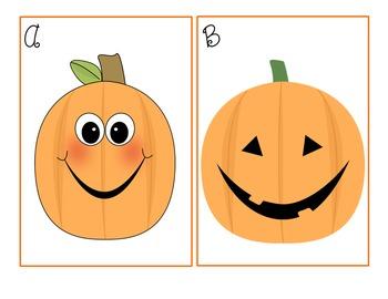 Pumpkin Riddles Inferencing Literacy Center