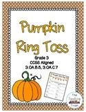 Pumpkin Ring Toss 3rd Grade