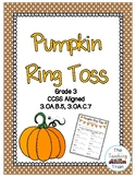 Pumpkin Ring Toss 3rd Grade