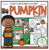 Pumpkin Road Mats -Alphabet-Numbers-Shapes