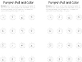 Pumpkin Roll and Color 1-6